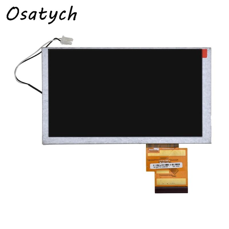 Panel de pantalla LCD para coche HSD0621DW1 de 6,2 pulgadas, pantalla de navegación