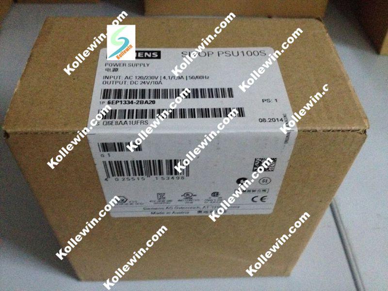 Simtic SITOP PSU100S 6EP1334 2BA20 24 V/10 A, مصدر طاقة مثبت: 120/230V AC 6EP13342BA20