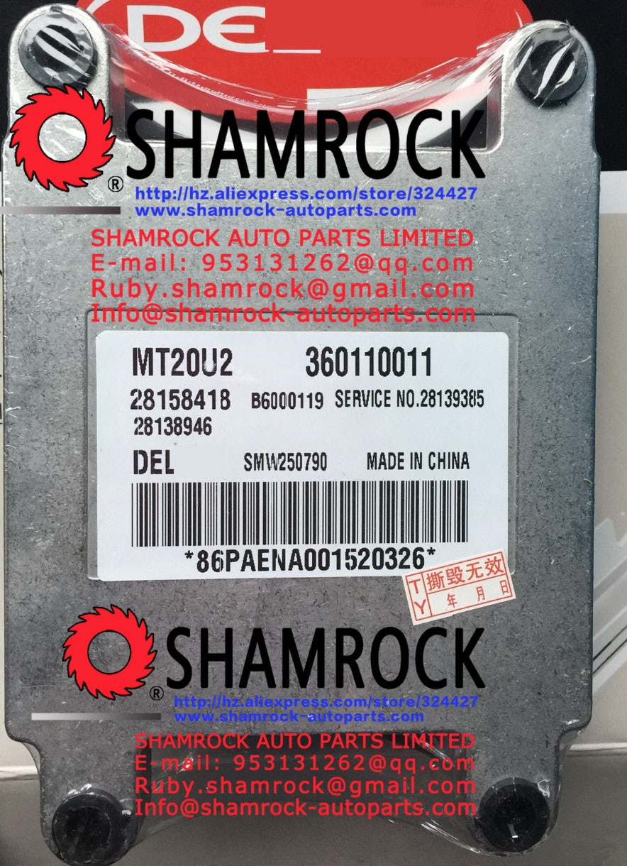 JMCpickup ecus MT20U2 SMW250790 360110011 pickup 2.4L 4G64 de unidad de control de 28158418 millones de ecus 360110011 SMW250790 nuevo ORIGINAL