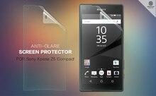 Z5 Compact Matte Protective Film NILLKIN Originais Fosco Zero-resistente Película Protetora Para Xperia Sony Z5 Compacto/Z5 Mini