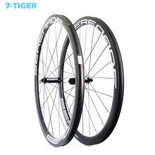التخصيص ملصق 38 مللي متر فاصل الكربون العجلات أفضل قيمة 700c الطريق دراجة ايرو عجلات الدراجات مع محاور سحب مستقيم