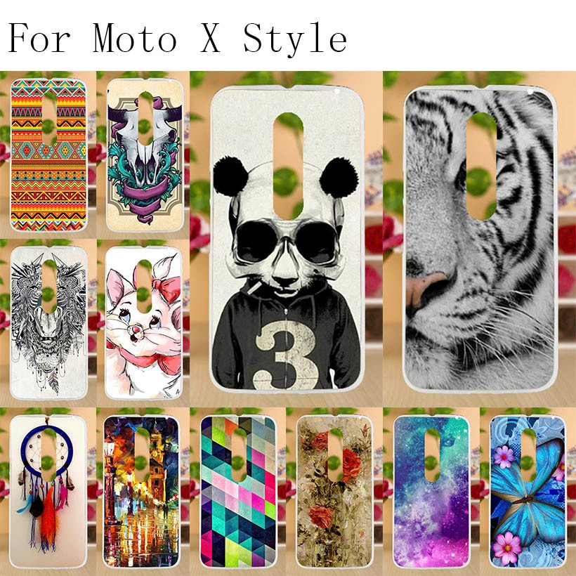 Funda de TPU suave Anunob para Motorola Moto X Style / Pure Edition XT1570 XT1572, carcasa trasera de silicona para Moto X Style, funda para teléfono