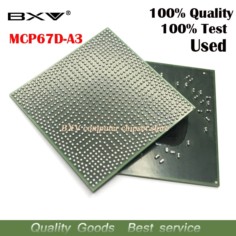 MCP67D-A3 MCP67D A3 100% test work very well reball with balls BGA chipset for laptop free shipping