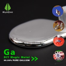 Élément en métal de Gallium 50 grammes 99.99%   Élément en métal de Gallium pur 31 livraison gratuite