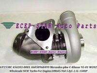 GT2538C 454203-0001 454203 6050960499 454203-5001S Turbo For Mercedes PKW C E G W461 G290 W210 E250 W202 C250 1995-01 OM605 2.5L