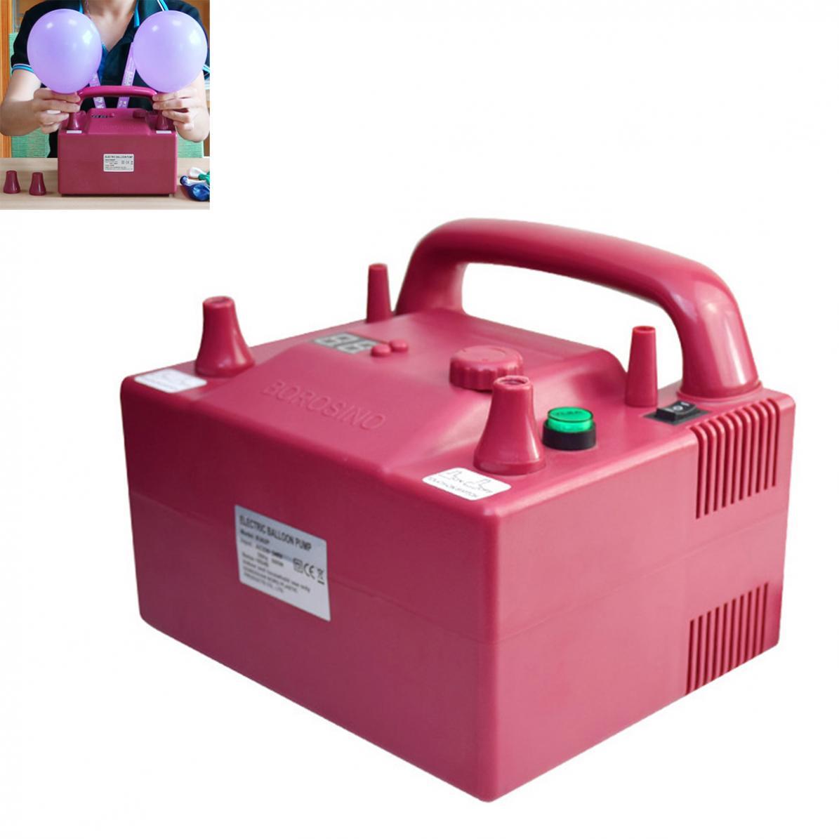 BOROSINO 800W B362P Timing Quantitative Multifunctional Electric Balloon Pump with 2 Inflation Nozzles