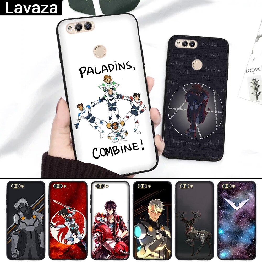 Lavaza Voltron legendario defensor de silicona funda para Huawei Honor 6A 7A 3 GB Pro 7X8 Lite 8X 8C 9 Nota 10