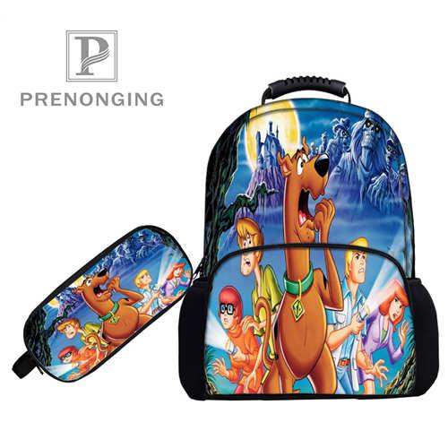 Custom 17inch Scooby-Doo (1) Backpacks Pen Bags 3D Printing School Women Men Travel Bags Boys Girls Book Computers Bag#1031-3-51