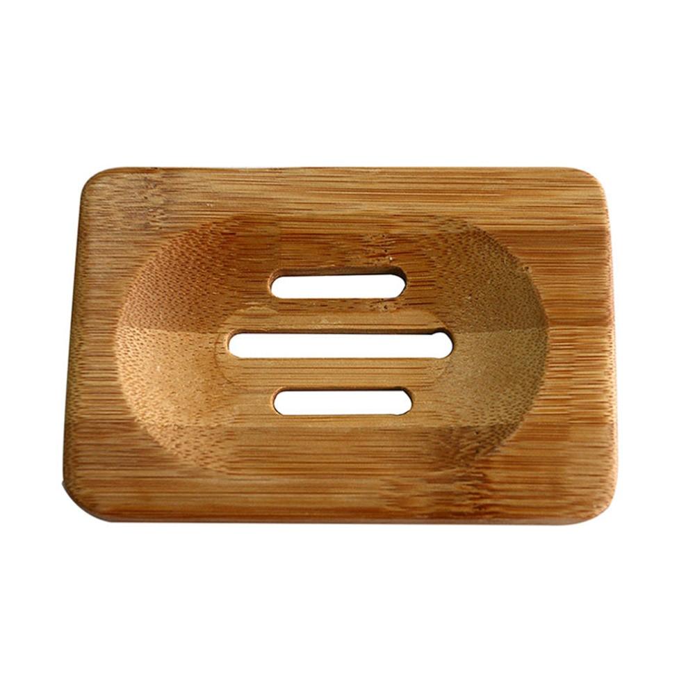 Новая Ванная комната натуральный бамбук деревянный держатель для хранения Ванна Душ тарелка мыльница горячая распродажа