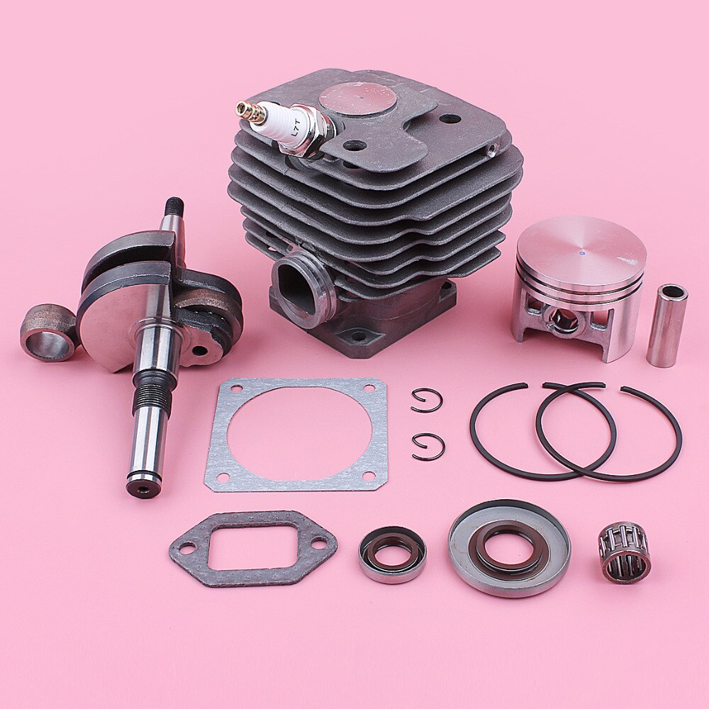 52mm Cylinder Piston Kit For Stihl MS380 038 MS 380 Crankshaft Oil Seal Gasket Chainsaw Tool Replacement Spare Part
