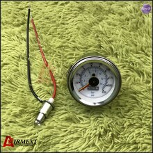 VIAIR jauge dair à Double pointeur 0-220PSI   Baromètre blanc de visage, suspension pneumatique, pression du sac à air