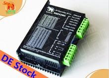 Hiçbir tariff AB! Wantai Step Motor Sürücü DQ542MA 4.2A 50 V 128 mikro CNC Router Gravür Grind Köpük Nema 23 motor