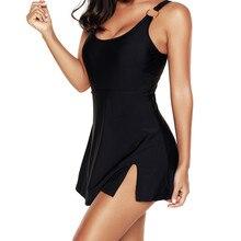2020 블랙 플러스 사이즈 Tankini 수영복 드레스 수영복 수영복 여성 스커트 빅 사이즈 Monokini Bodysuit 여성 수영복 # TX4