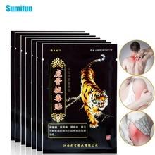 Sumifun 104Pcs/13Bags 타이거 밤 통증 완화 패치 다시 목 근육 관절 관절염 석고 D1550