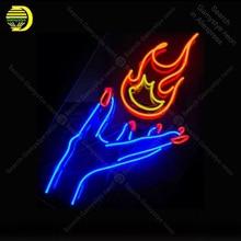 Mes feux font rage enseigne néon Las vegas ampoule fabriqué à la main salle de loisirs signe emblématique lumière néon Art signe magasin affichage publicité