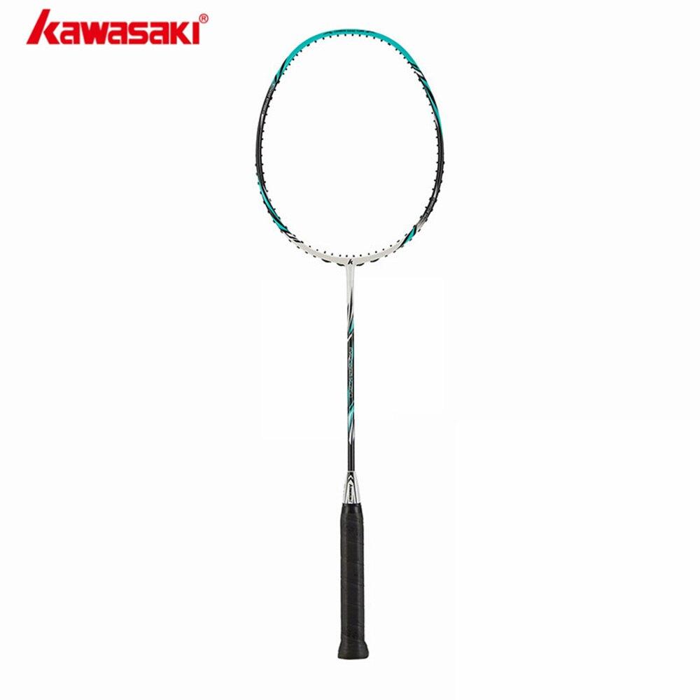 2019 Halbe Sterne Echtem Kawasaki Voll Carbon Badminton Schläger Besten Kauft Raquette Badminton X260 Mit Freies Geschenk