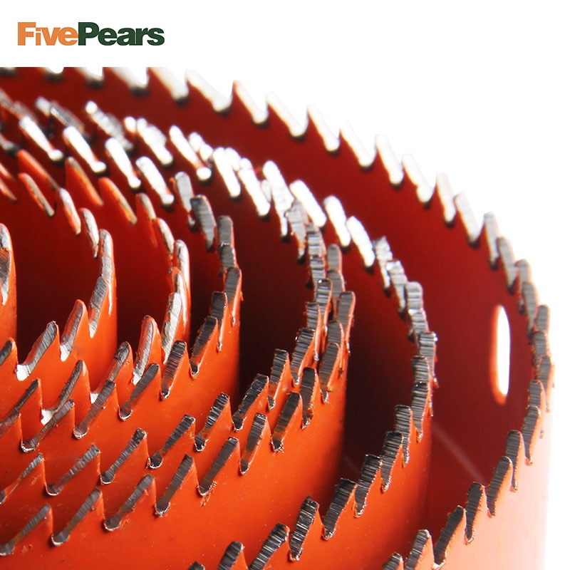 Buraco viu corte conjunto kit ferramenta de perfuração de madeira cortador de metal 19-64mm de alta qualidade mandrels serras núcleo brocas carpintaria