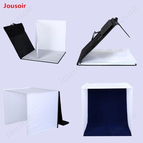 40 cm/16 polegada Mesa Foto Estúdio de Fotografia Kit de Luz Tenda Com 4 Cores Backdrops & Rotatable Suporte de Cópia & Spotlight lâmpadas CD15