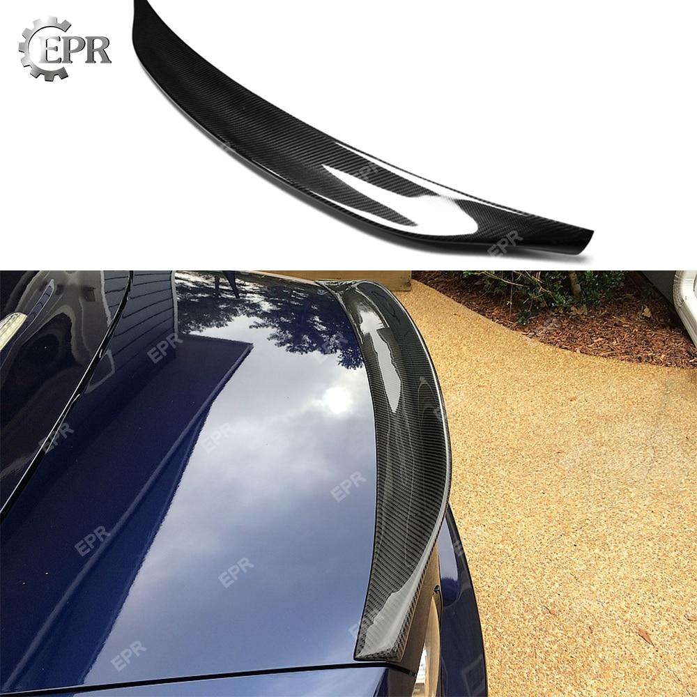 Для Mazda MX5 NA MK1 Miata Type 2 Ducktail карбоновый задний спойлер тюнинг часть отделка Гонки Для Miata MK1 углеродное волокно Багажник крыло губы