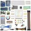 Kit de démarrage pour servomoteur pas à pas 1602 LCD LM35 platine de prototypage accessoires de fil de démarrage pour UNO R3 pour l'apprentissage