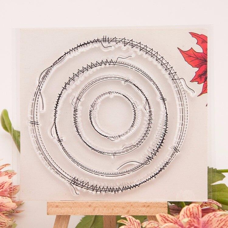 Альбом для скрапбукинга DIY, фотоальбом с отделением для записей, резиновая прозрачная печать, швейная нить