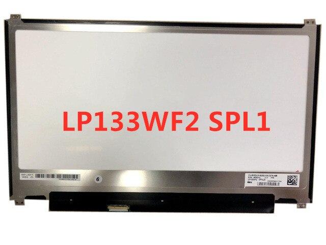 "Display LCD LP133WF2 SPL3 LP133WF2 (SP) (L3) IPS Matriz para Laptop 13.3 ""FHD 1920X1080 Matte LP133WF2-SPL3 30Pin Substituição"