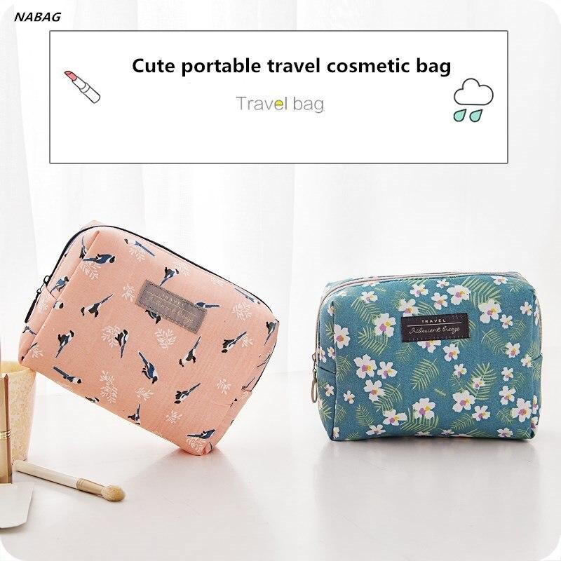 1 Pc Moda Mulheres Viajar Sacos de Armazenamento de Cosméticos Caixa de Maquiagem cosméticos saco organizador
