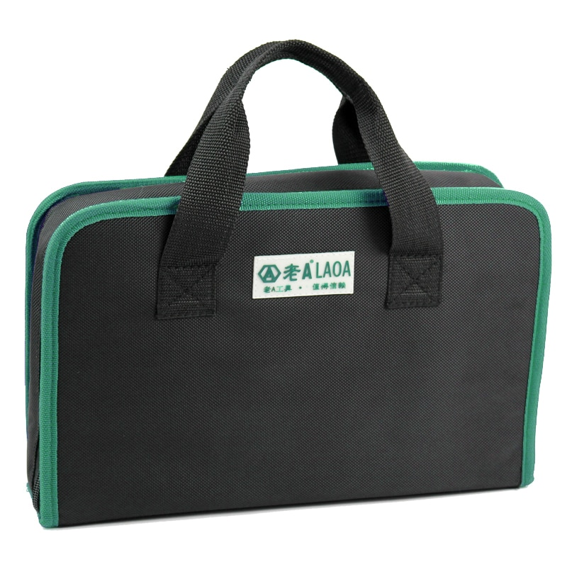 Bolso de mano de taladro eléctrico LAOA, bolsa de herramientas de alta calidad 600D, paquete de herramientas Oxford a prueba de agua