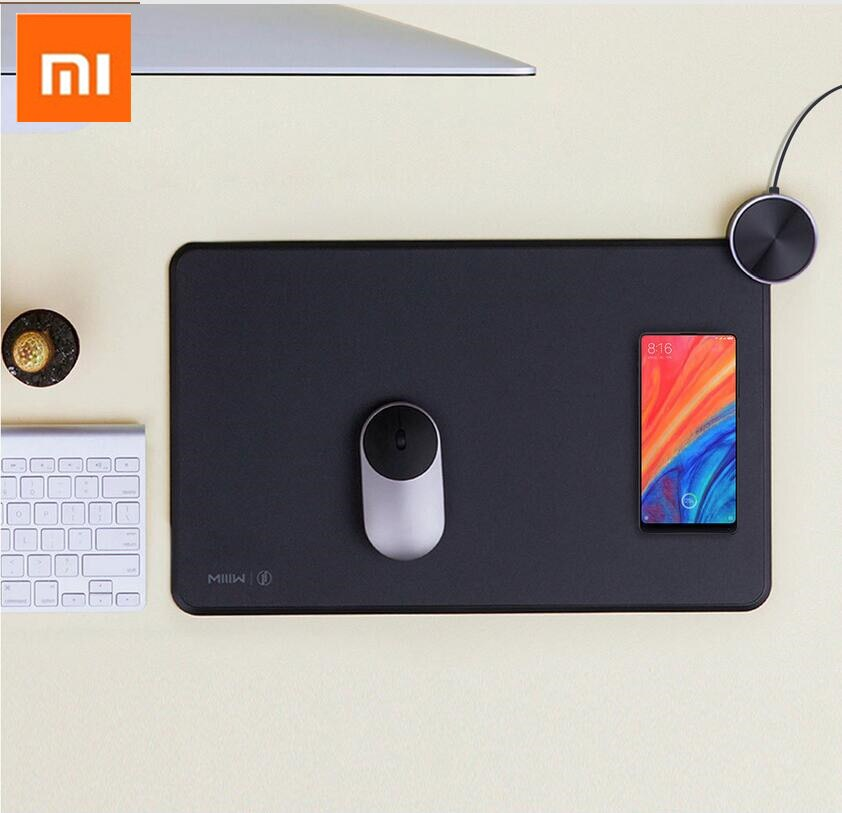 Xiaomi Smart Mouse Pad Support Mi Mix2S Wireless Charging Aluminum Alloy Button PC&TPU Electronic Sports Material for Game H15