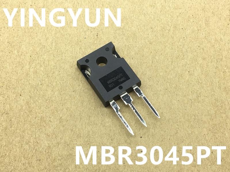 10PCS/LOT  MBR3045  MBR3045LPT MBR3045PT   TO-247  30A45V   New original on AliWatcher