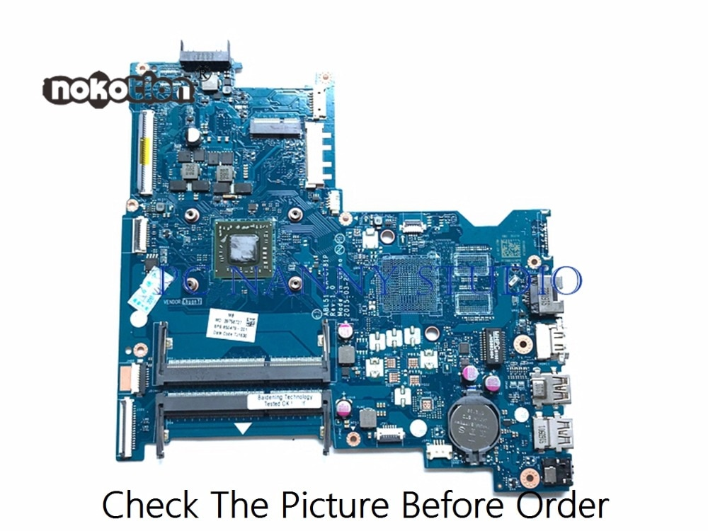 PANANNY ل HP 15-AF اللوحة المحمول ABL51 LA-C781P 850479-001 اختبارها