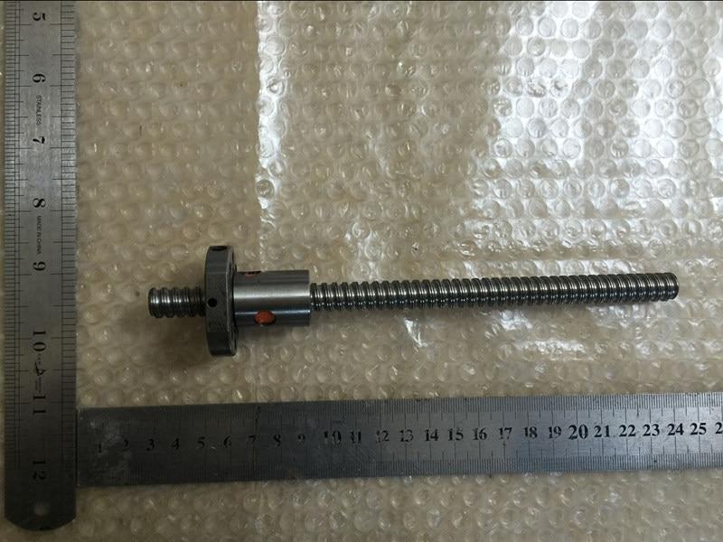 SFU1204 الكرة اللولبية مع صامولة واحدة لـ CNC L200mm/L250mm/L300mm/L350mm/L400mm/L450mm