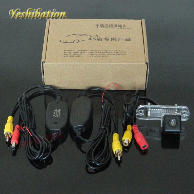 Kit receptor transmisor inalámbrico Yeshibation 2,4G para cámara trasera inalámbrica Mercedes Benz R300 R350 R280 R500 R63 AM