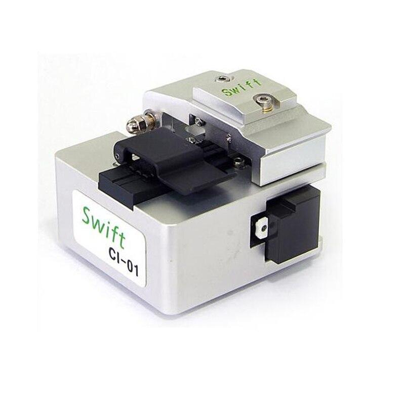 De alta precisión de Swift CI-01 Multi-Acción de fibra Cleaver con Swift 50.000 fibras empalmador fibra óptica CI-01 FTTH fibra de herramientas de corte