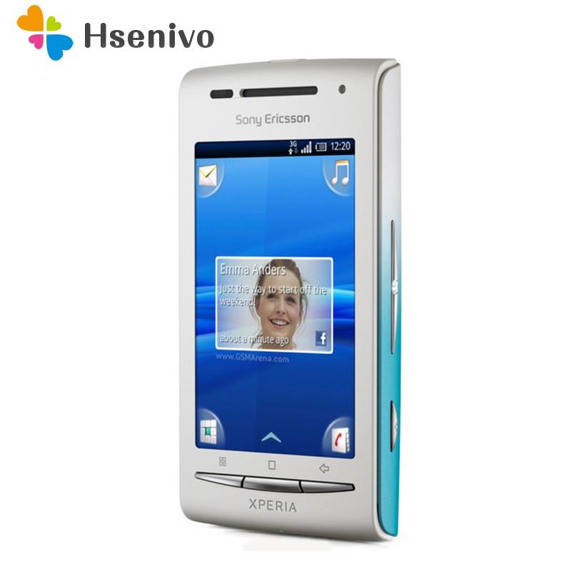 Sony-Smartphone Xperia X8 E15i, Original renovado, Android, GPS, Wi-Fi, 3,0 pulgadas