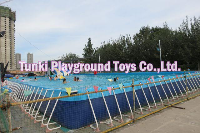 Gran calidad, tamaño pequeño de marco de metal, piscina, mini stent, piscina en venta