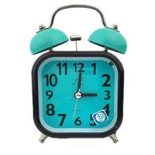 Double Bell Desktop Alarm Clock Classic Metal Silent Quartz Home Desk Table Alarm Clock Night light Clock