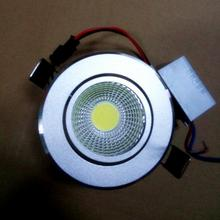 LED ceiling light 3W 5W COB ceiling lights lamp Spot AC85V~265V for home illumination Free shipping