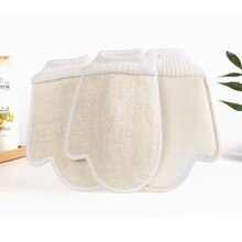1 Piece Unisex Soft Exfoliating Loofah Bath glove Body Cleaning