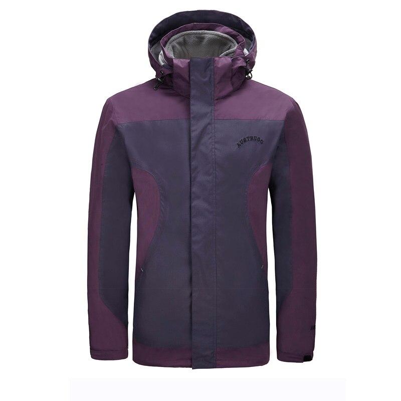 Austrugg Men 008 Ultralight 3in1Keepwarm Windproof Winter Autumn Spring  Jacket  Fitness Outdoor Sport Clothing