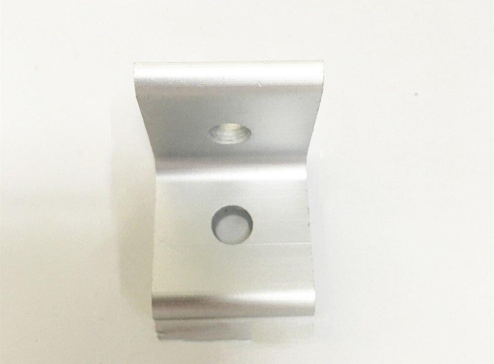 2 loch innen ecke halterung 2020 L typ winkel aluminium profil 1 stücke
