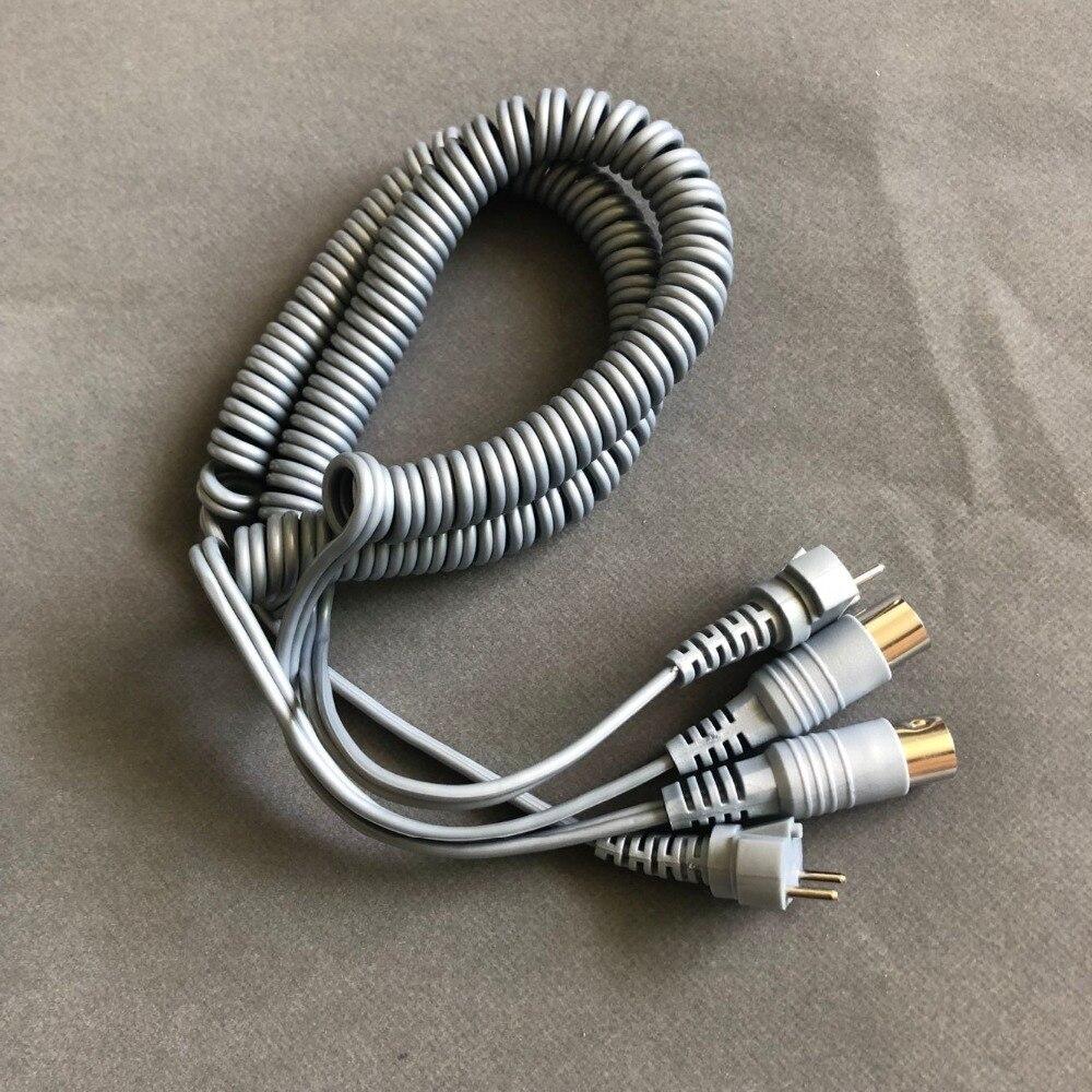 3 uds fuerte 210 204 90 102L 105L mango cable de alimentación taladro eléctrico de manicura y accesorio máquina eléctrica de taladro de uñas