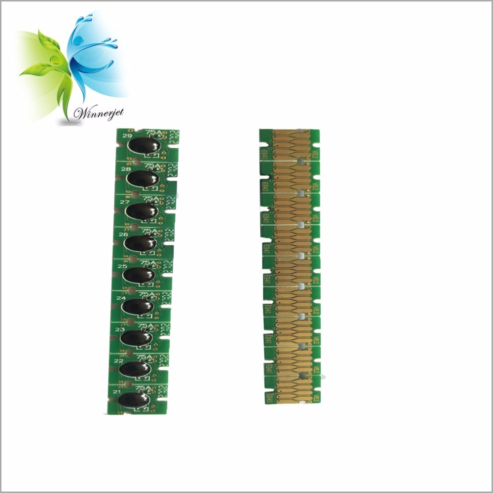 Chip de cartucho T6941-T6945 Winnerjet para Epson surecolor T3270 T5270 T7270 recarga/cartucho de tinta compatible