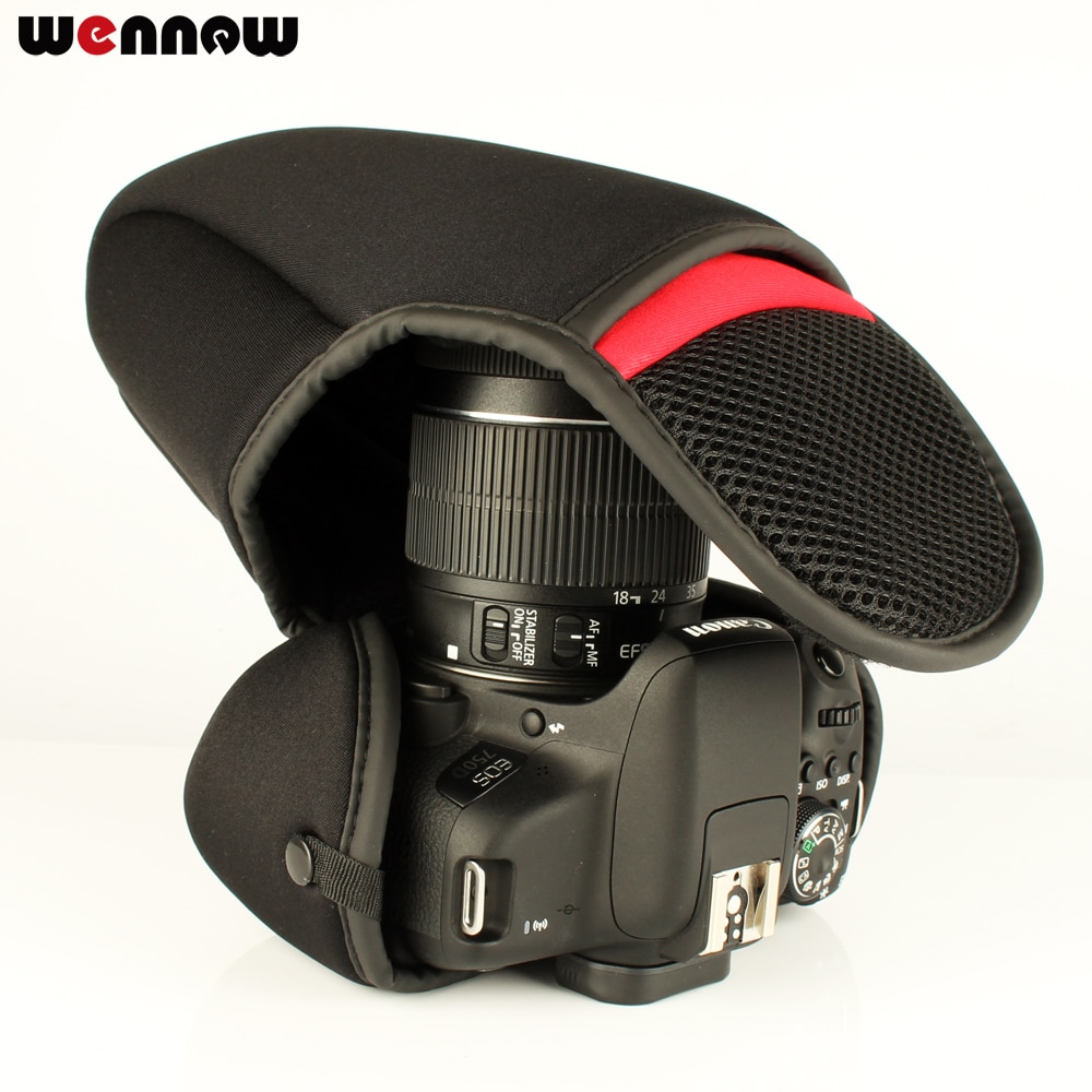 Wennew caja de bolsa de cámara paquete suave para Sony Alpha A6500 A6300 A6000 A5100 A5000 NEX-6 NEX-3N NEX-5N 5T 5C 5R NEX-7 NEX5 NEX3