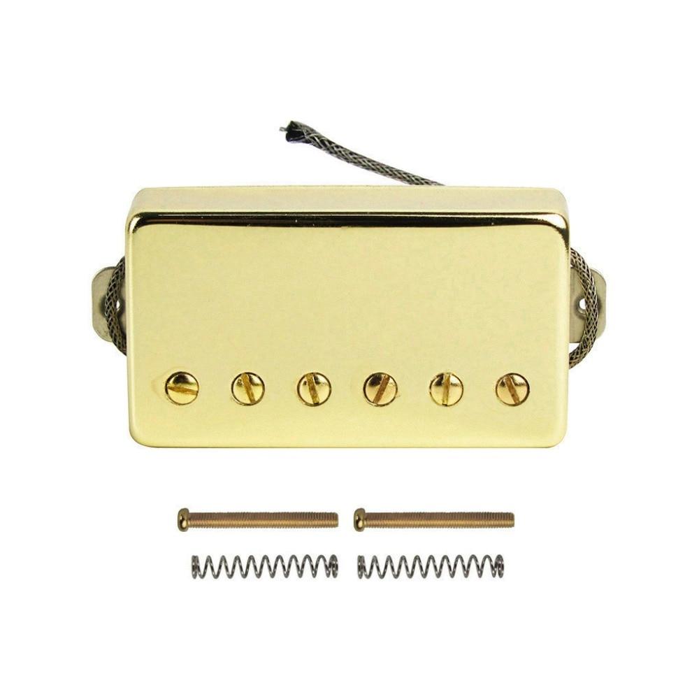 Новый Alnico 5/V Humbucker электрогитара пикап Золото Шея или мост Пикап выбрать для LP Стиль гитары