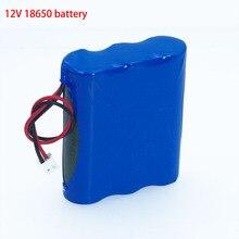 Liitokala 12 V 18650 lithium-ionen akku Monitor CCTV Kamera batterie 12,6 V 1.8A 2A 2.2A 2.5A 2.6A 2.8A 3A batterien