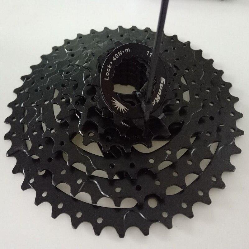 Sunrace CSM680 8 velocidades 11-40T gran relación MTB bicicleta de montaña bicicleta cassette volante
