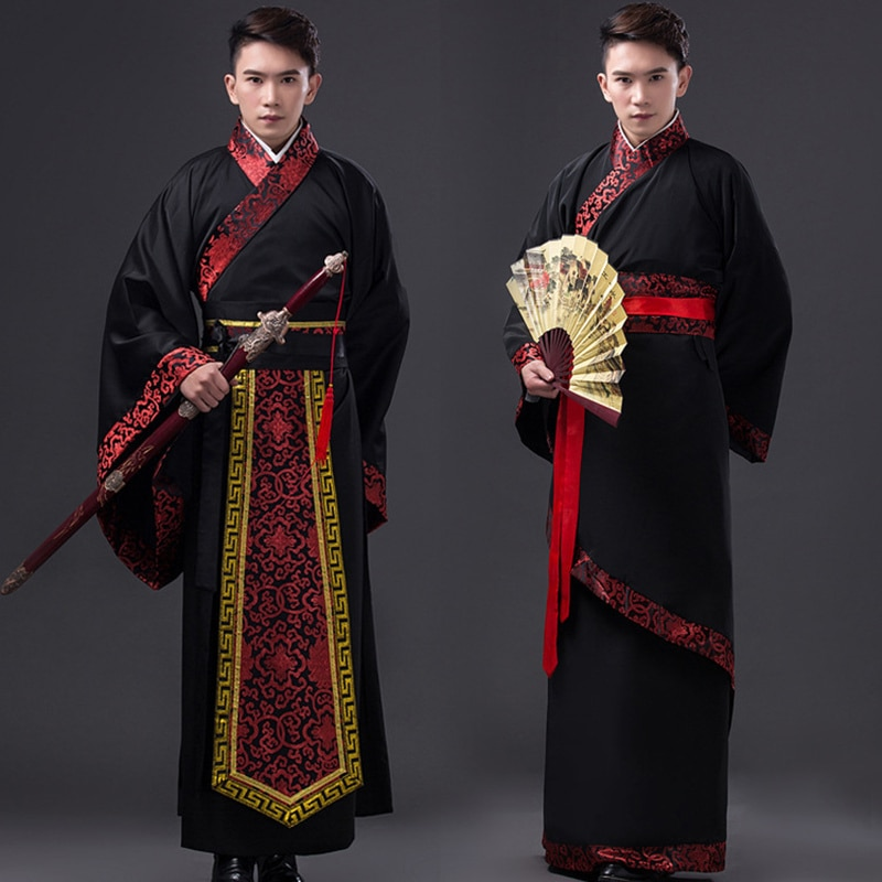 Traje tradicional chino para hombre traje antiguo traje tradicional nacional traje Tang hanfu traje Cosplay para hombre 89