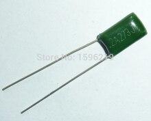 10 pièces Mylar Film Condensateur 100V 2A273J 0.027uF 27nF 2A273 5% condensateur à Film Polyester
