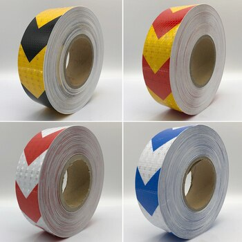 10Roll Wholesale Safety Warning Conspicuity Reflective Tape for Car-Styling Reflective Vehicle Sticker Fast shipping by Fedex